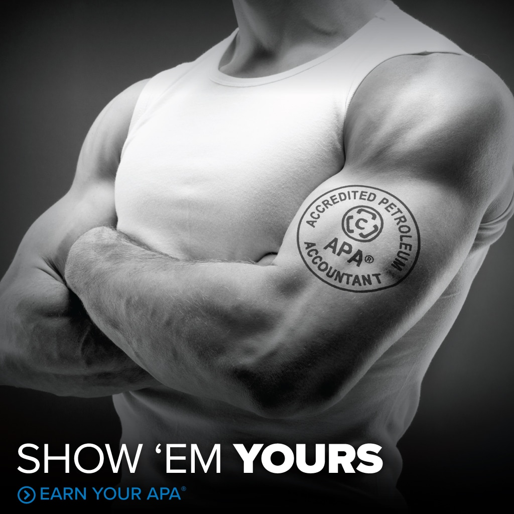 Show 'em Yours - 00966 Website Ads FA APA1 - Council of Petroleum Accountants Societies