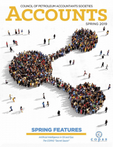 Spring 2019 - accounts spring2019 web copy resized - Council of Petroleum Accountants Societies